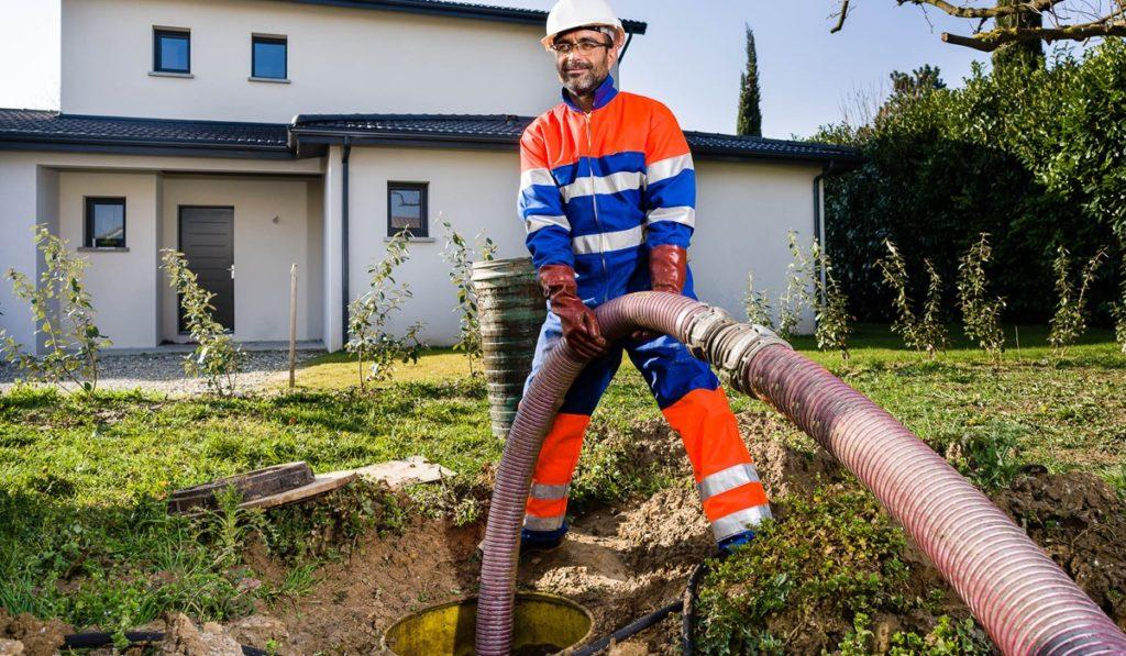 Le fonctionnement d'une fosse septique