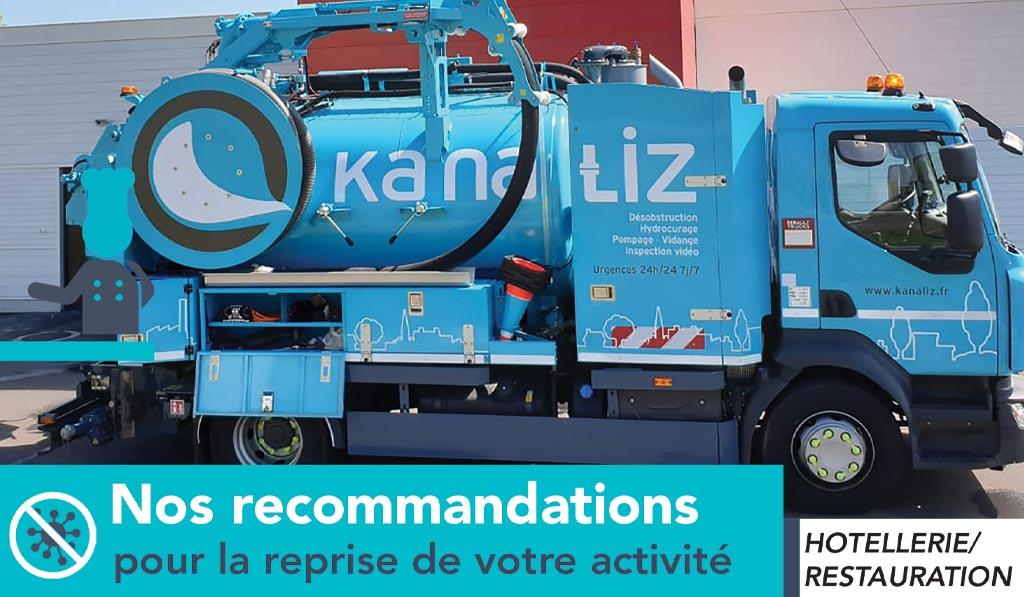 Hôtellerie-Restauration préserver vos installations d'assainissement